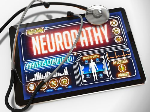 Tablet Describing a Neuropathy Diagnosis
