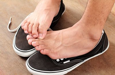 Black toenails aren't just black... they can fall off too.