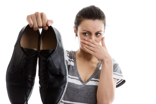 How to Deal with Smelly Shoes