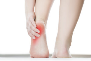 Heel pain from internal and external causes