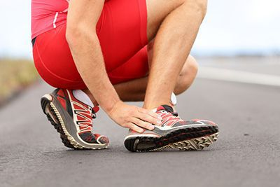 Pain from Ankle Sprains