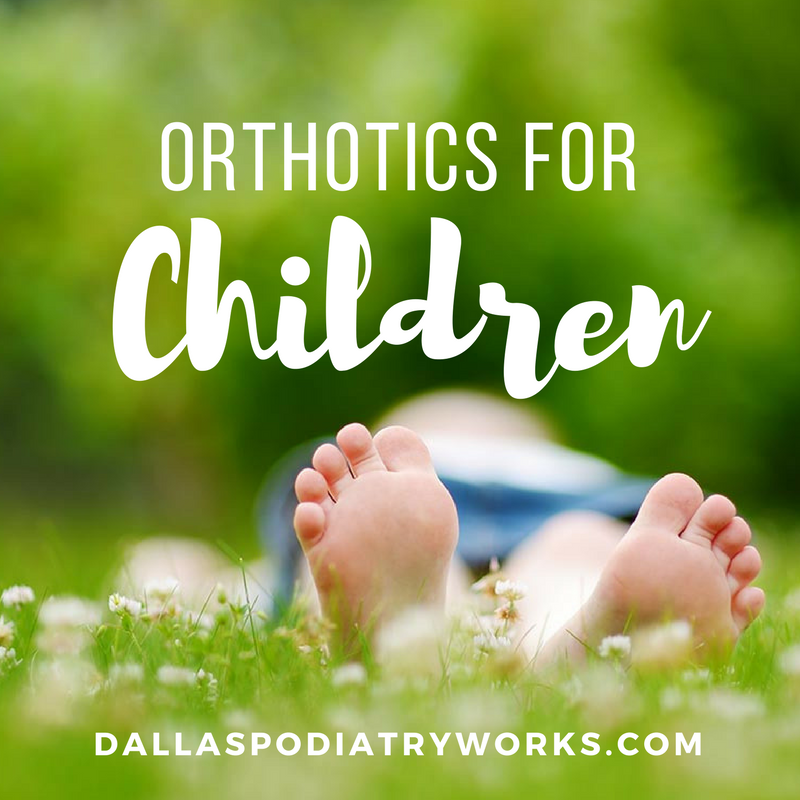 Children's orthotics
