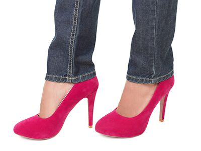 High Heels can Contribute to Metatarsalgia