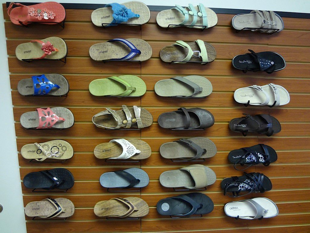 Sandals Give Less Protection for your Feet.