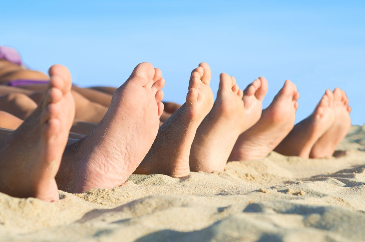 Avoid Athlete's Foot on Vacation