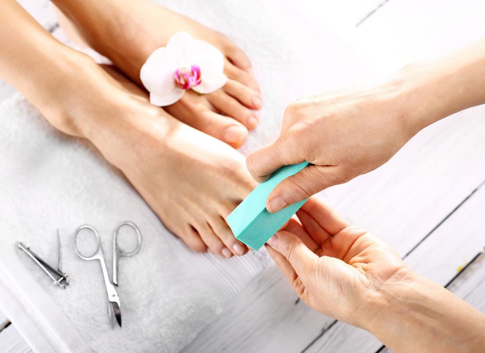 Have a medical pedicure at Dallas Podiatry Works where you know it will be clean.