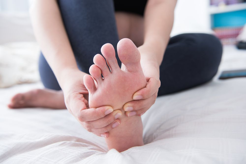 Just because it isn't pain in your feet doesn't mean you have to put up with numbness. See your podiatrist to get your feet back to normal.