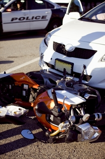 Proving Negligence in a Car and Motorcycle Crash