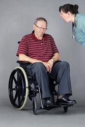 Elderly Man Being Verbally Abused