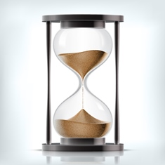 Sand Timer Representing the Statute of Limitations in Personal Liability Cases