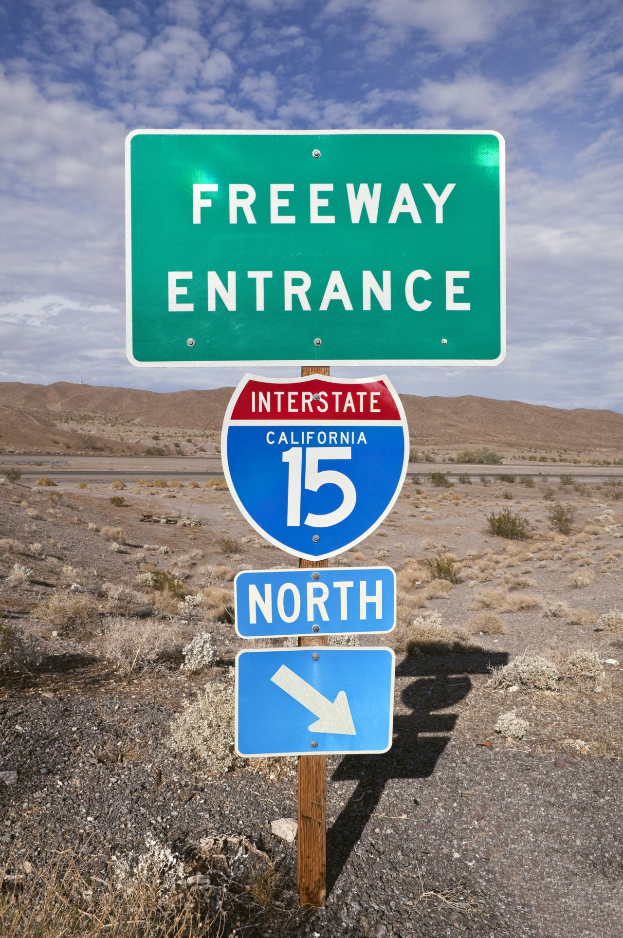 One Victorville CA Freeway Accidents Leads to Another