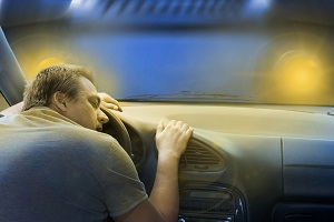 Drowsy Driving leads to car accidents