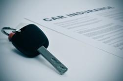 Car Insurance Paperwork and Car Keys