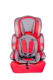 Red and Gray Front Facing Car Seat