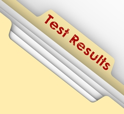 Test Results Envelope