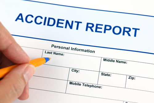 If YouRe Injured In A Slip And Fall File An Accident Report