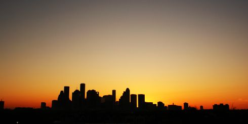 Image of Houston skyline. Houston accident lawyer helps injured victims.