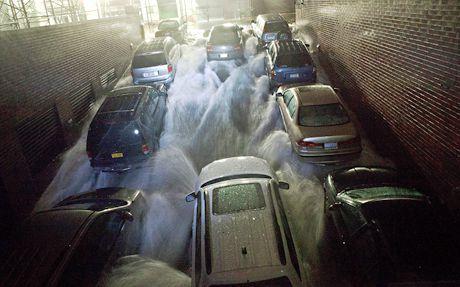 Hurricane Sandy Car Damage