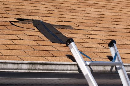 Shingle damage is a common Texas insurance claim.