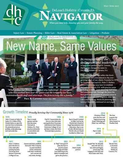 Summer 2016 Navigator Cover