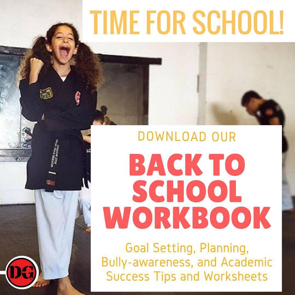 Kids Martial Arts Back to School Readiness Course
