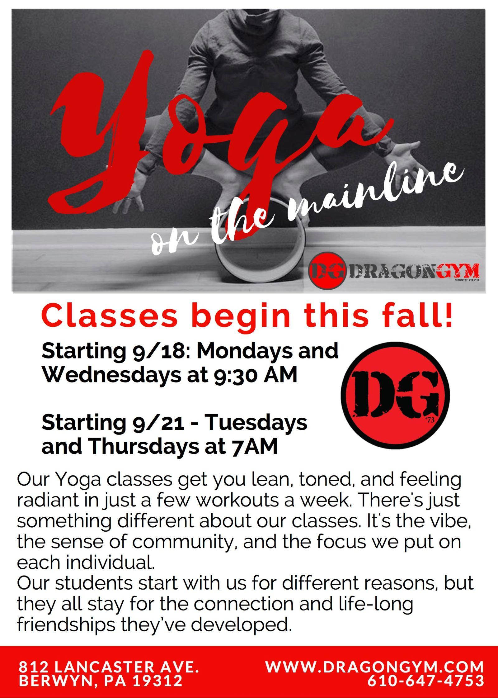 Yoga Classes in Berwyn, PA