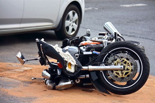 haymarket virginia motorcycle crash with injury