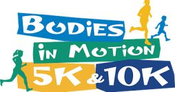Bodies in Motion 5k and 10k logo
