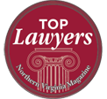 Badge of Northern Virginia Magazine Top Lawyers 2014