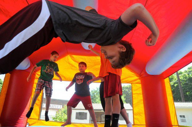 Bounce or Bouncy Houses are popular at kids parties and fairs, but cause accidents and injuries.