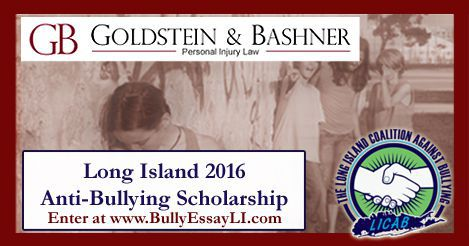 Long Island Anti-Bullying Scholarship 2016 anti- bullying scholarships