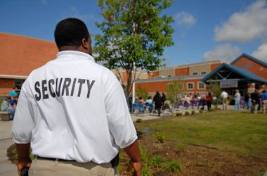 Long Island college campus security