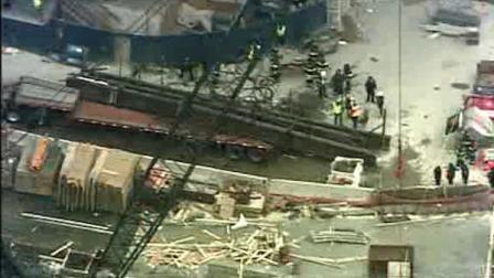 world trade center crane accident