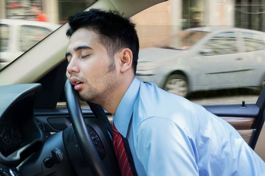 Drowsy Driver- Driving while tired or fatigued can cause serious accidents that you can be held liable for