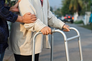 Elderly pedestrians are more at risk for injury from traffic accidents