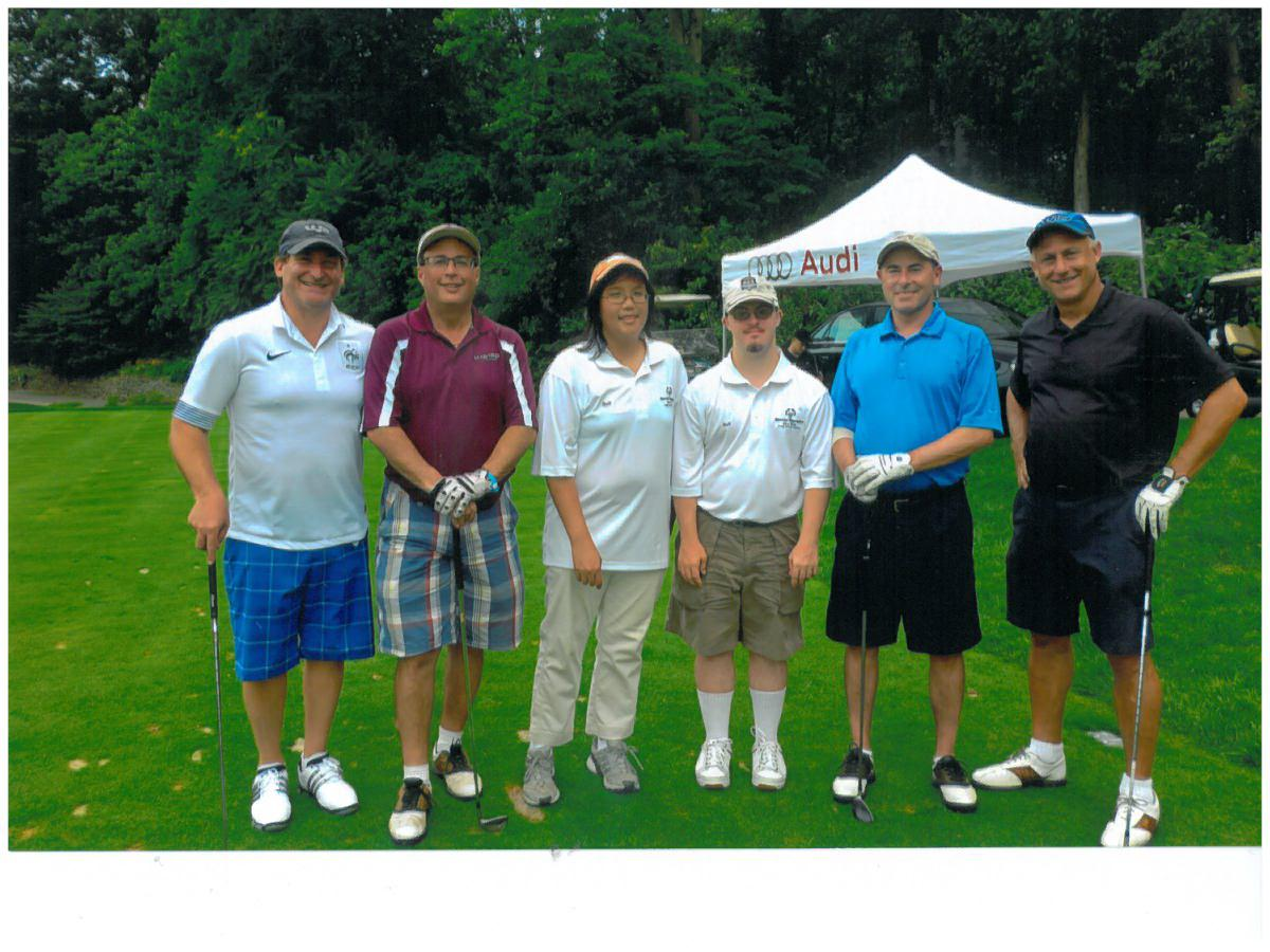 Special Olympics golf outing,Old Westbury, NY