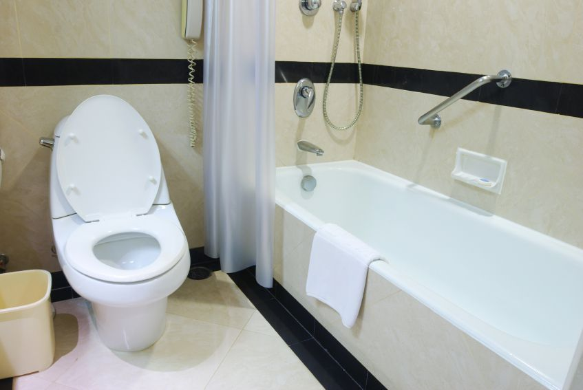 hotel bathroom accidents and injuries