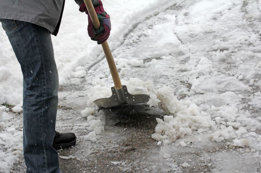 If you fall on ice on a sidewalk, you might be able to receive compensation.  Find out what you need to know.