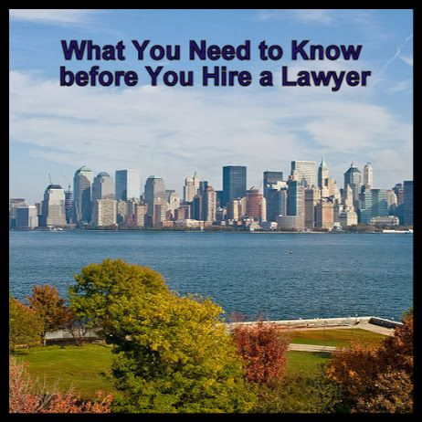 What you need to know before you hire a lawyer