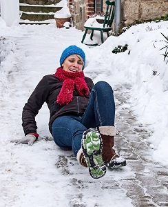 Slip & Fall Accidents at Stores in Snow & Water