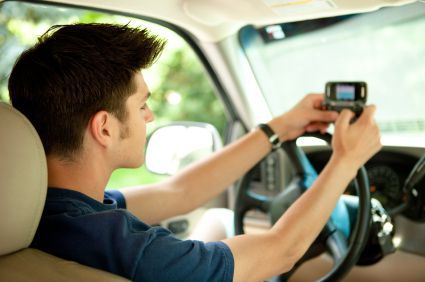 teen driver texting