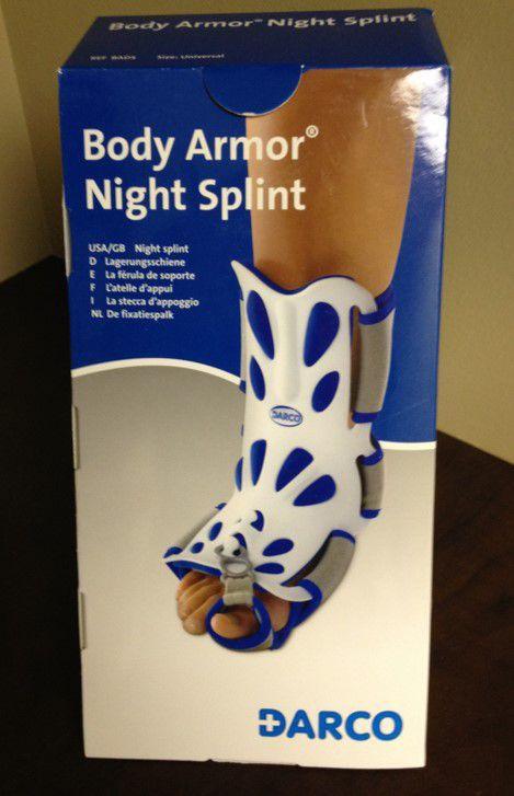 Body Armor Night Splint Box