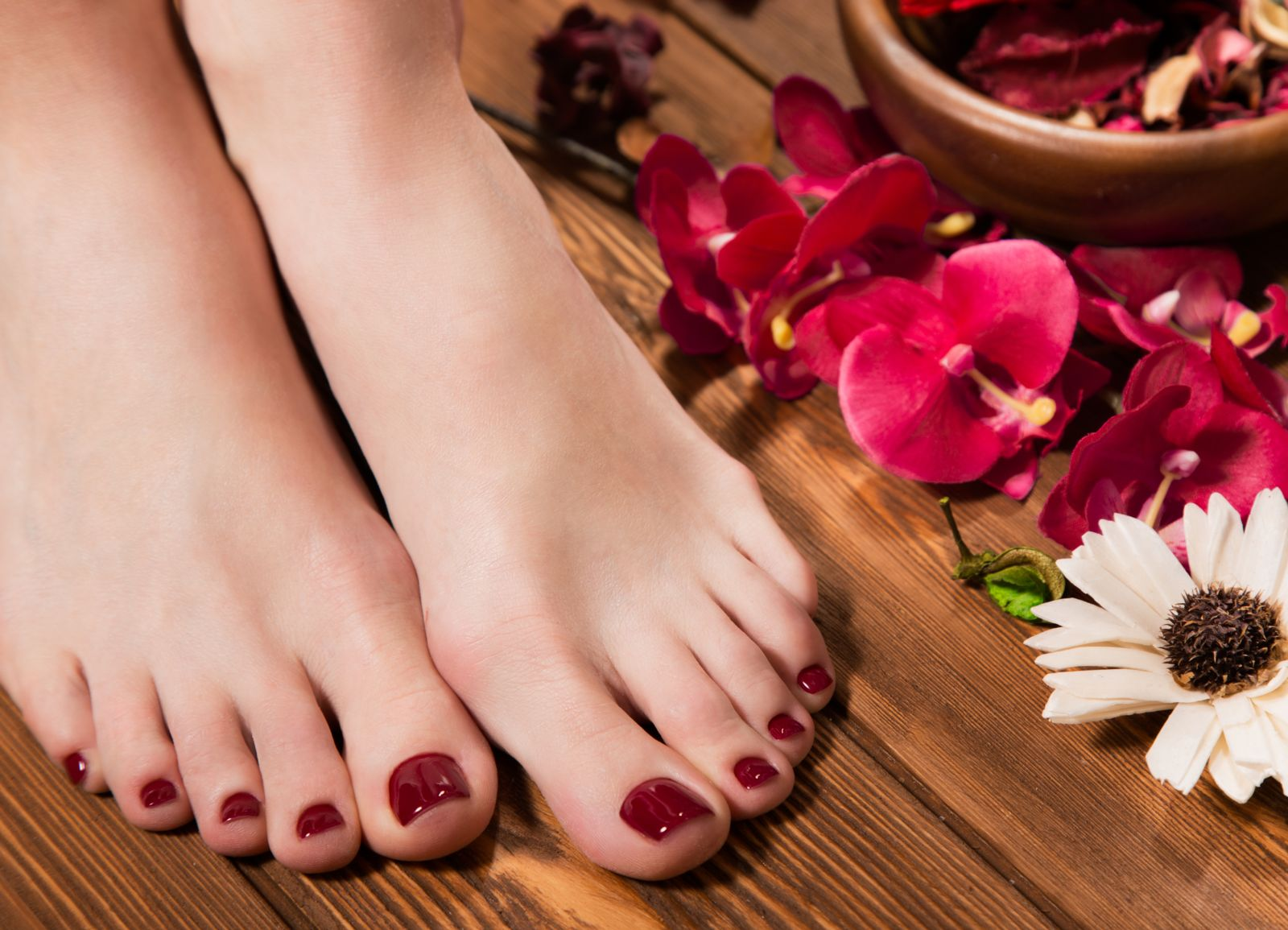 Holiday Pedicure