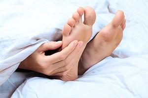 Treating diabetic feet