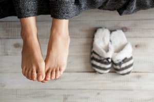 Heel Pain at Home or Work