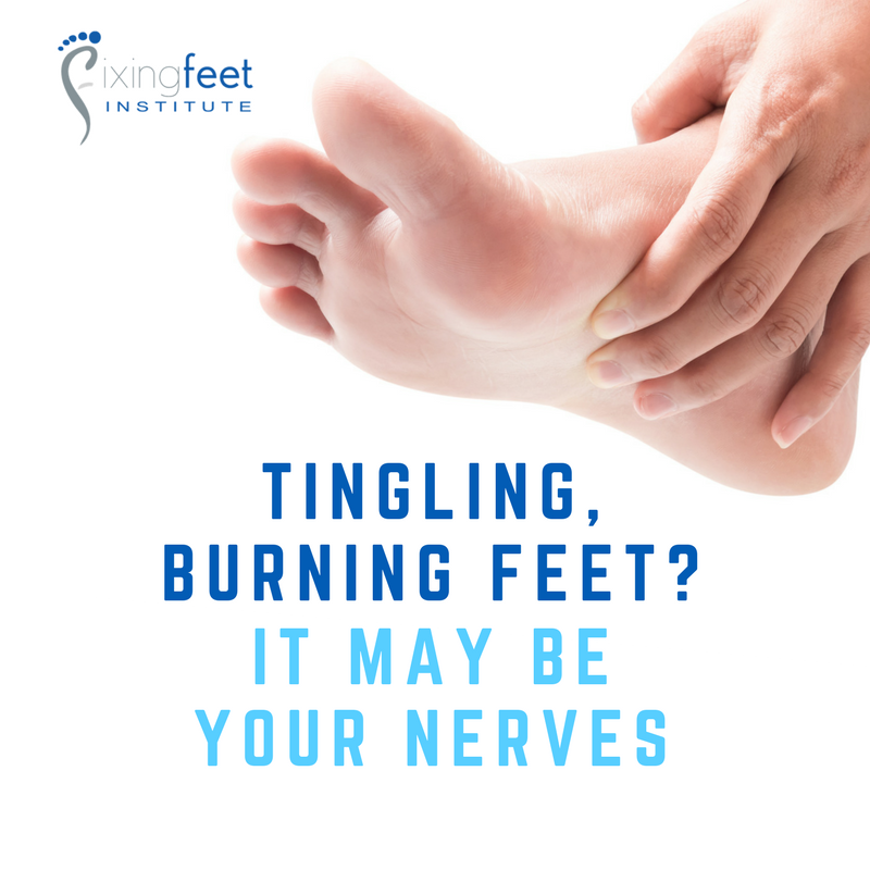 Tingling, burning feet?