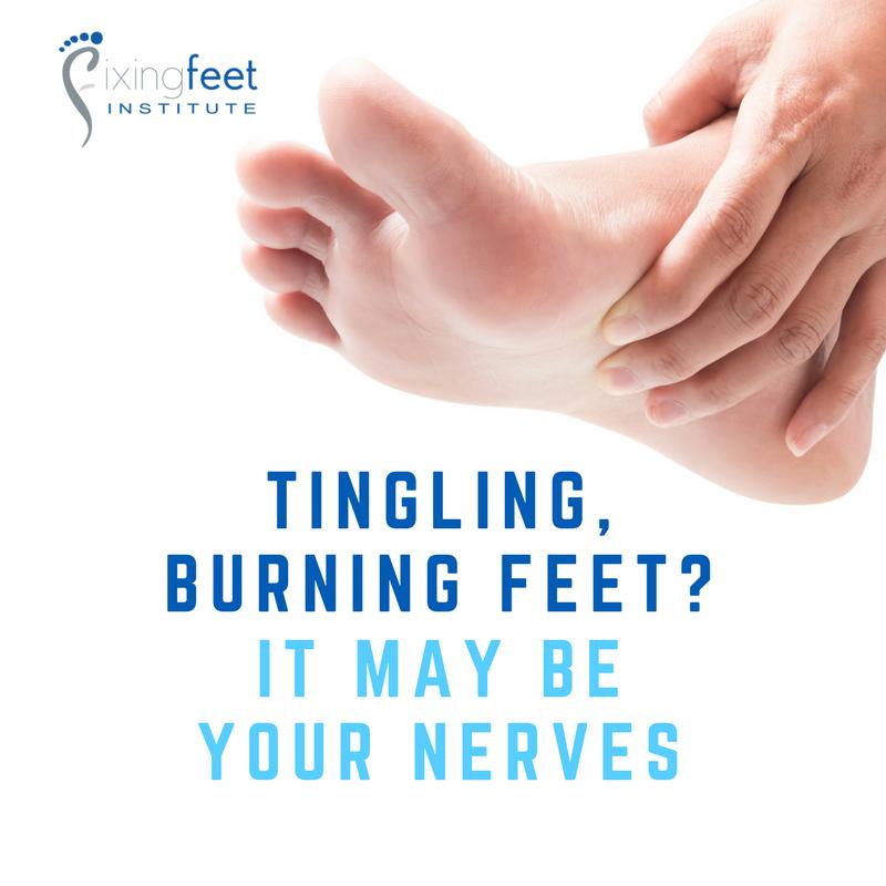 Tingling, burning feet?