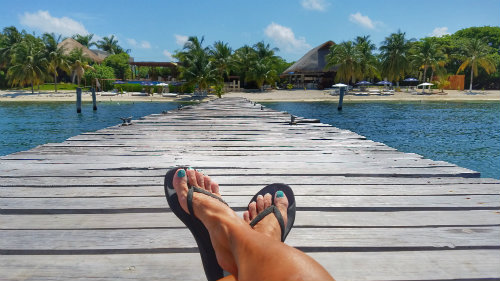 How to avoid foot pain with flip flops!