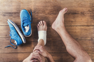 Ankle instability makes physical activity difficult!