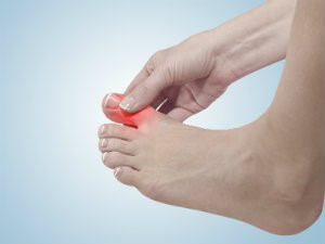 Pain from gout